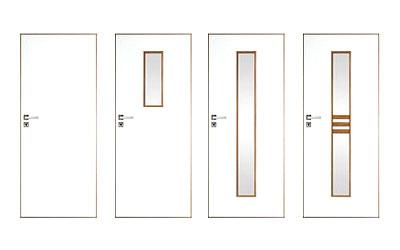 Dveře lakované