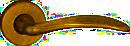 klika LEKO FIRENZE BA 1662 mosaz patina lakovaná